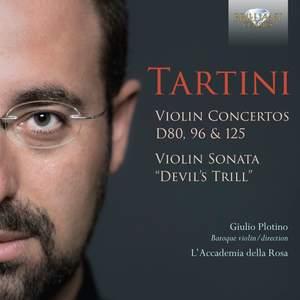 Tartini: Violin Concertos D80, 96 & 125, Violin Sonata 'devil's Thrill'