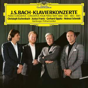 J S Bach: Concertos for 2,3 & 4 Pianos - Vinyl Edition