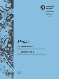 Mahler: Symphony No. 3 (Full Score)