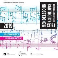 Felix Mendelssohn Bartholdy Hochschulwettbewerb 2019 - 1. Preis (Violoncello)