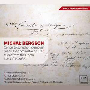Bergson: Orchestral Works Product Image