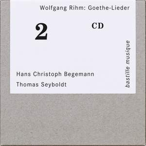Wolfgang Rihm: Goethe Lieder Product Image