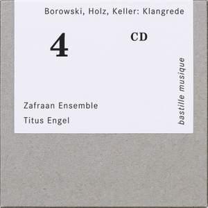 Borowski, Holz, Keller: Klangrede Product Image