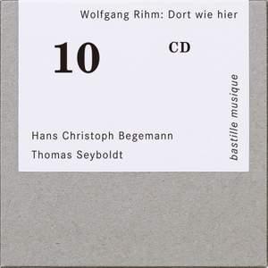 Wolfgang Rihm: Dort wie hier Product Image