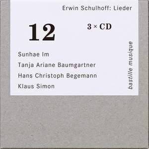 Erwin Schulhoff: Lieder Product Image
