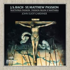 J S Bach: St Matthew Passion, BWV244 Product Image
