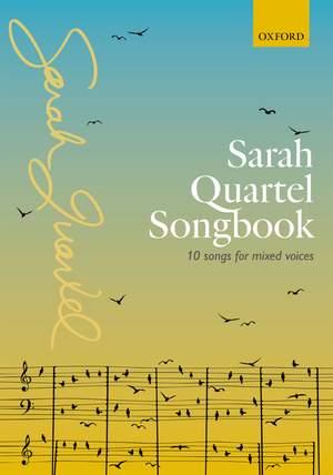 Sarah Quartel Songbook Product Image