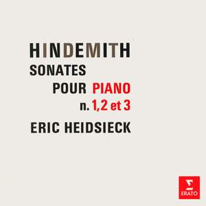 Hindemith: Sonates pour piano Nos. 1, 2 & 3