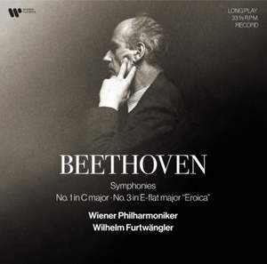 Beethoven: Symphony Nos. 1 & 3 'Eroica' - Vinyl Edition