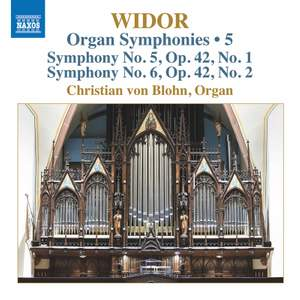 Widor: Organ Syms Vol. 5