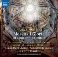 Mayr: Messa di Gloria