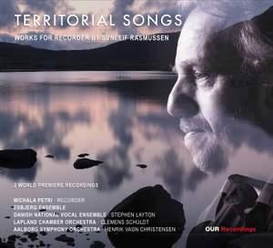 Sunleif Rasmussen: Territorial Songs, Works for Recorder