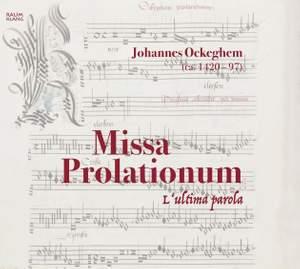 Ockeghem: Missa Prolationum