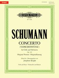 Robert Schumann: Concerto for Cello and Orchestra (Concertstück)