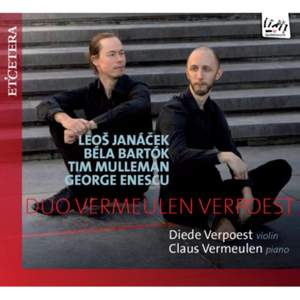 Janacek, Bartok, Enescu, Tim Mulleman: Violin Sonatas