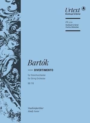 Bartók: Divertimento BB 118 Product Image