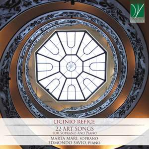 Refice: 22 Art Songs, for Soprano and Piano