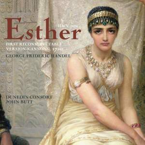 Handel: Esther, First Reconstructable Version (Cannons), 1720