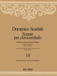 Domenico Scarlatti: Sonate per clavicembalo - Volume 10
