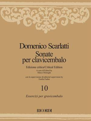 Domenico Scarlatti: Sonate per clavicembalo - Volume 10 Product Image