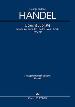 Händel: Utrecht Jubilate, HWV 279