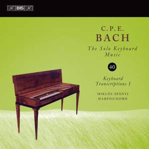 Bach: Keyboard Music Vol. 40