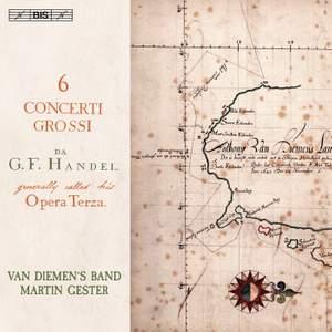 Handel: Six Concerti Grossi Op. 3 Product Image