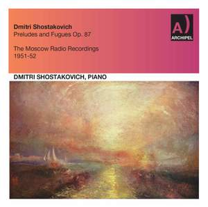 Shostakovich: 24 Preludes & Fugues, Op. 87 (Excerpts) Product Image