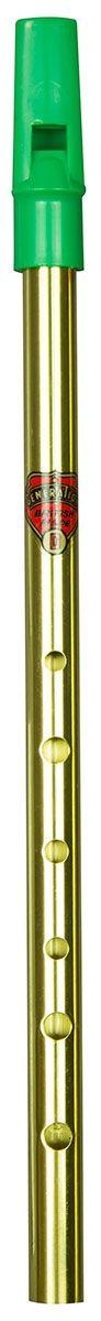 Flageolet D Brass. Green Top