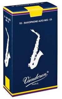 Vandoren Alto Sax Reeds 2 Traditional (10 BOX)