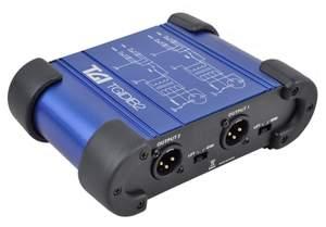 TGI Passive Dual Channel DI Box