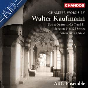 Chamber Works by Walter Kaufmann Product Image