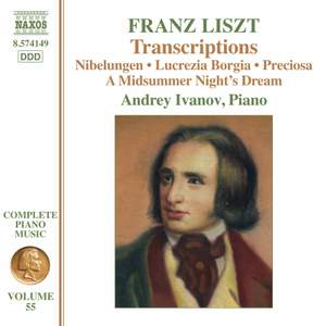 Liszt: Transcriptions Product Image