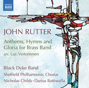 Rutter: Anthems, Hymns and Gloria for Brass Band Product Image