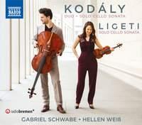 Kodály and Ligeti: Solo Cello Sonatas