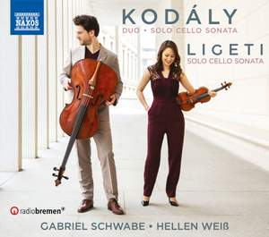 Kodály and Ligeti: Solo Cello Sonatas