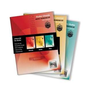 3-Book Music Working Kit for Guitar