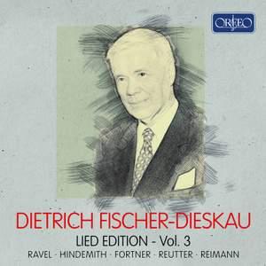 Dietrich Fischer-Dieskau: Lied Edition Vol. 3