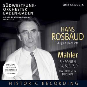 Hans Rosbaud conducts Mahler