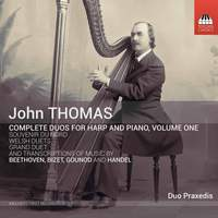 John Thomas: Complete Duos for Harp and Piano, Vol. 1