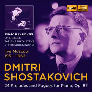 Dmitri Shostakovich - 24 Preludes and Fugues for Piano, Op. 87 Product Image