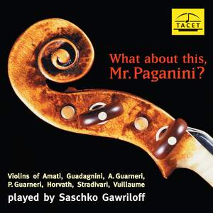 What About This, Mr. Paganini?
