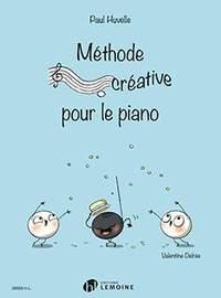 Paul Huvelle: Méthode créative pour le piano