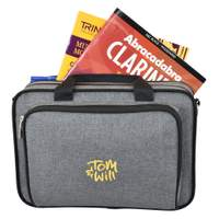 Clarinet gig case ~ grey with red interior