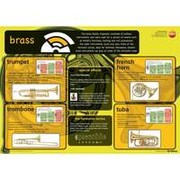 Genesis Images Brass instruments - A1 wall poster