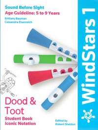 WindStars 1 Dood & Toot Student Book Iconic Notation