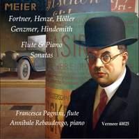 Fortner, Henze & Others: Flute Sonatas