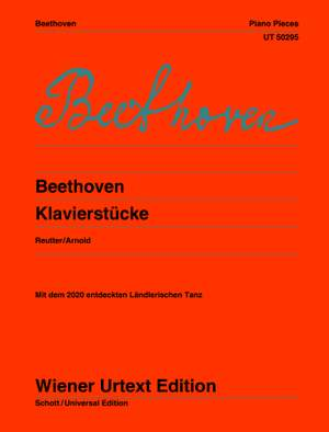 Beethoven, L v: Piano Pieces Product Image