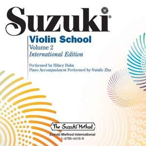 Shinichi Suzuki: Suzuki Violin School 2 Hahn CD