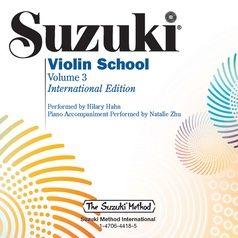Shinichi Suzuki: Suzuki Violin School 3 Hahn CD